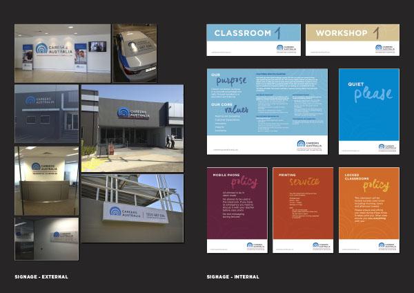 Careers Australia Signage