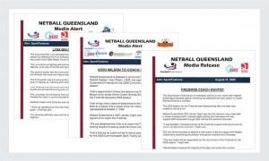 Netball Queensland Portfolio | Irene Watt | Marketing Consultant | Brisbane | Australia