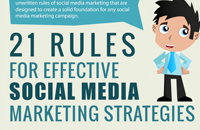 21social media marketing tips infographic